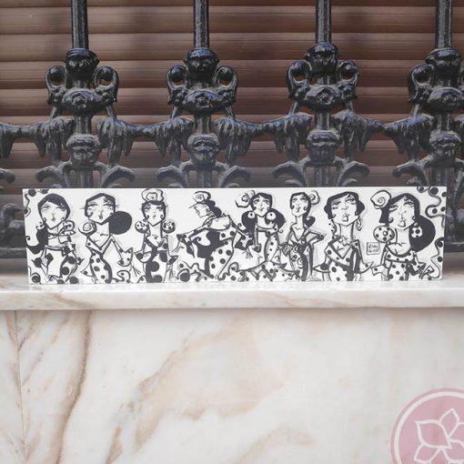 tabla blanco y negro carmen encinas hispania flamenco