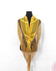 manton plumeti dorado hispania flamenco