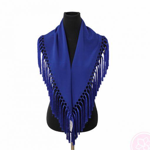 manton azulino hispania flamenco
