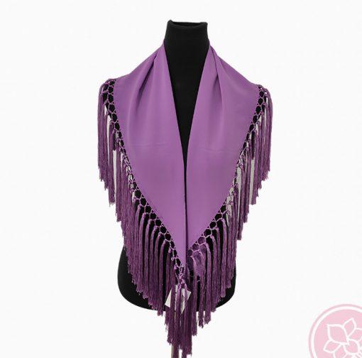 manton lila hispania flamenco