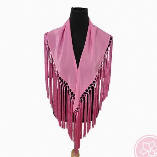 manton rosa hispania flamenco