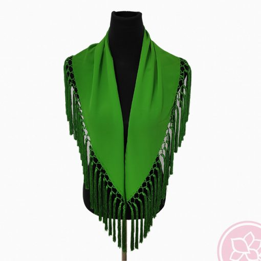 manton verde andalucia hispania flamenco