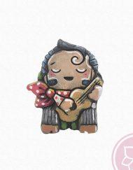 gitanito tocando guitarra ruano